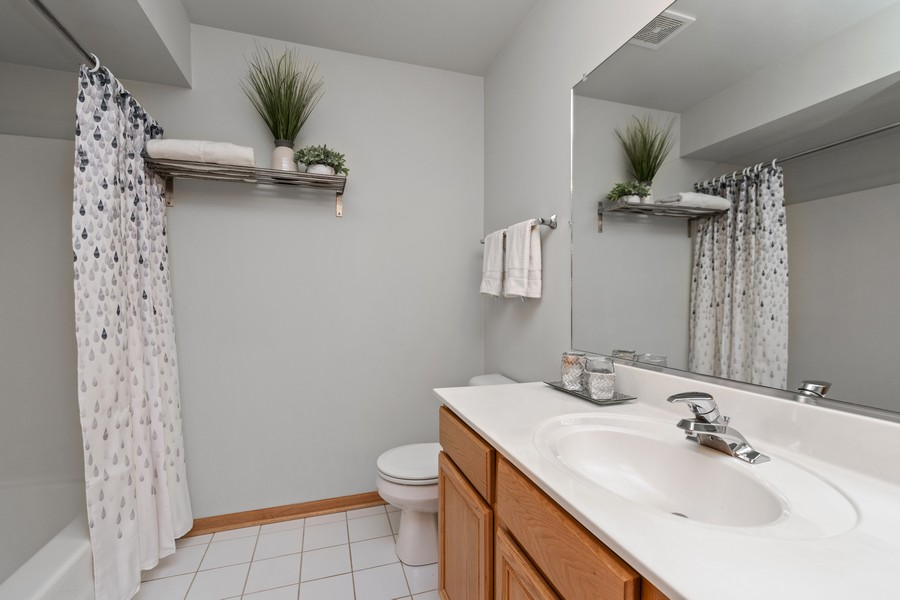 Real Estate Photography - 2624 Schooner Dr, New Lenox, IL, 60451 - Bathroom