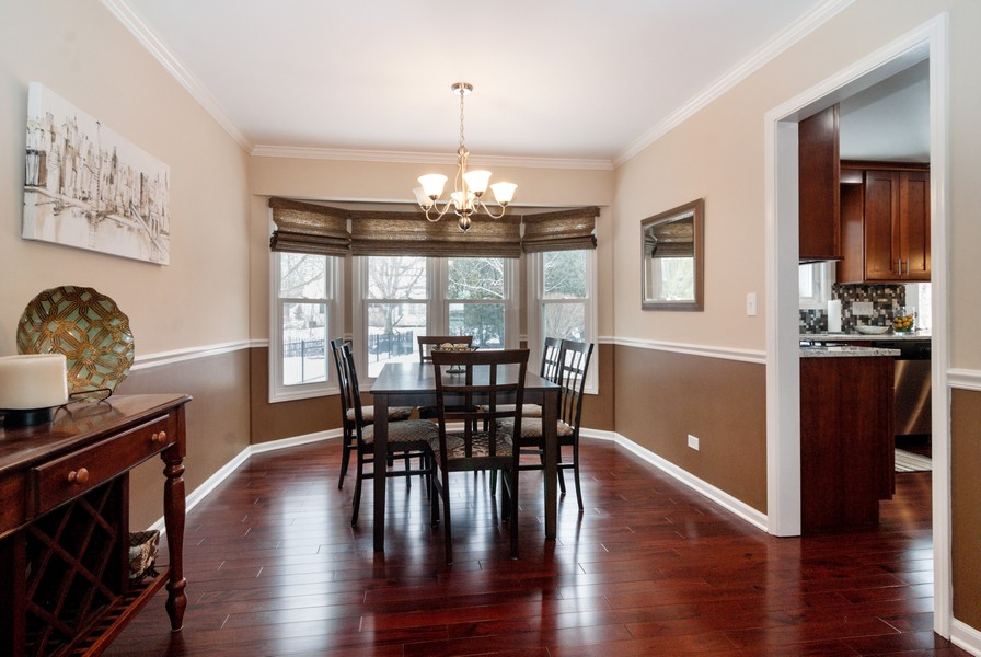 Real Estate Photography - 231 Millington Ln, Aurora, IL, 60504 - Dining Room