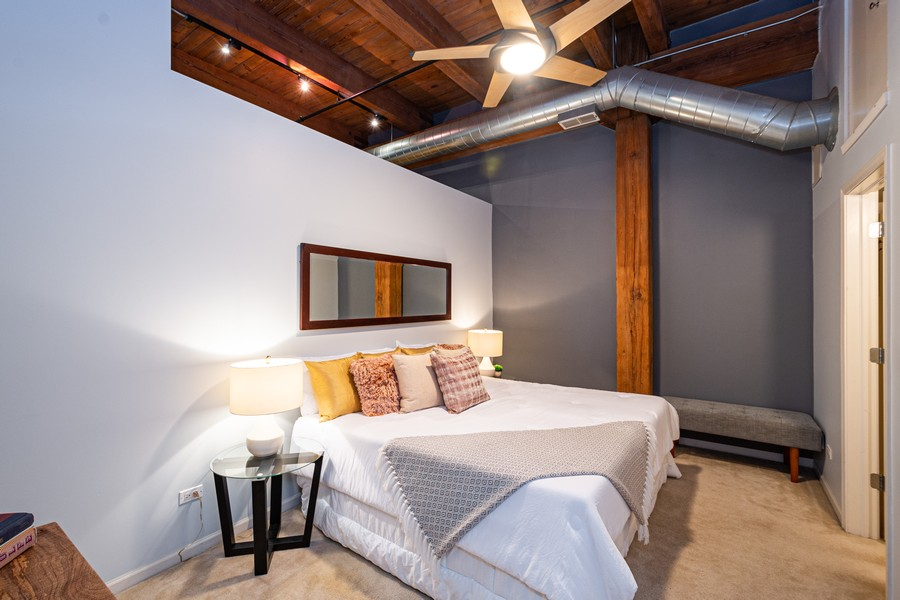 Real Estate Photography - 525 West Superior St, 328, Chicago, IL, 60654 - Bedroom
