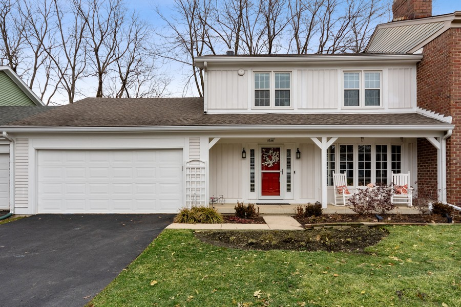 Real Estate Photography - 1519 Wedgefield Cir, Naperville, IL, 60563 - Front View
