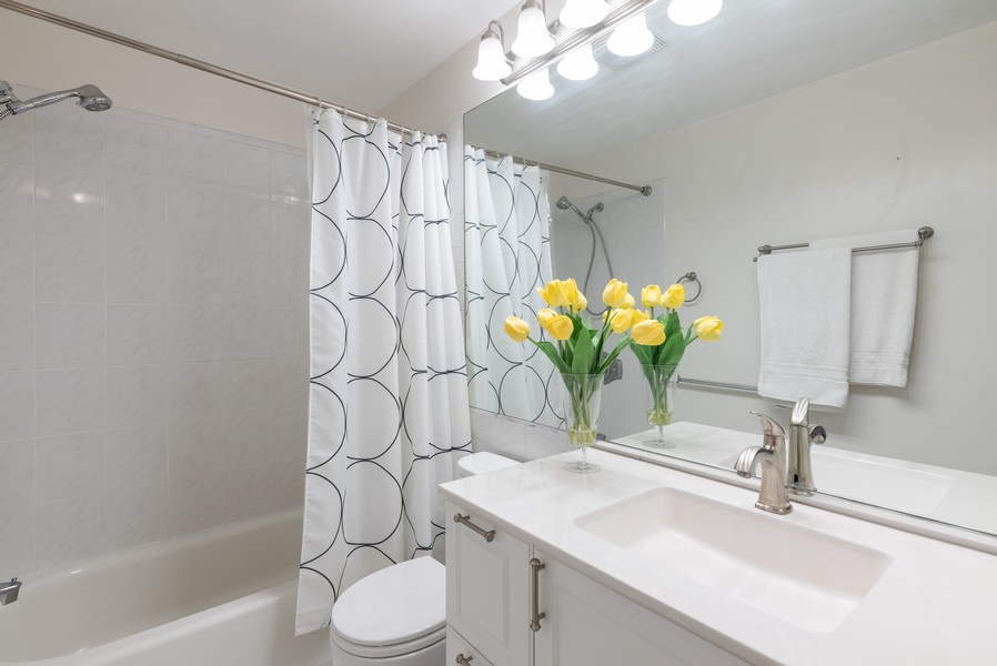 Real Estate Photography - 1 Renaissance Place, Palatine, IL, 60067 - Bathroom