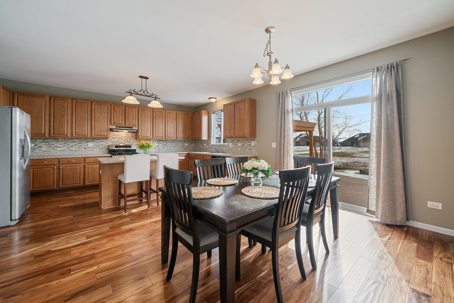 Real Estate Photography - 27233 Red Wing Ln, Channahon, IL, 60410 - KITCHEN / DINETTE