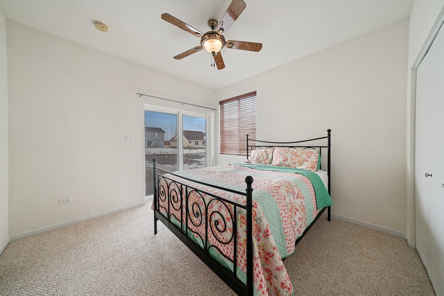 Real Estate Photography - 27233 Red Wing Ln, Channahon, IL, 60410 - MAIN FLOOR BEDROOM