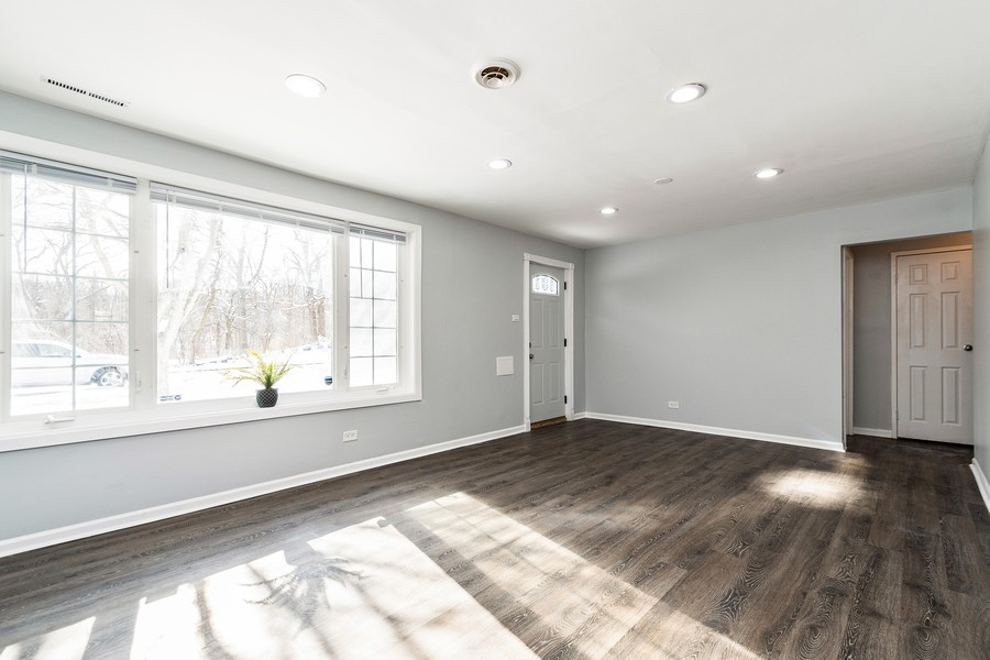 Real Estate Photography - 38 Monee Rd, Park Forest, IL, 60466 - Living Room
