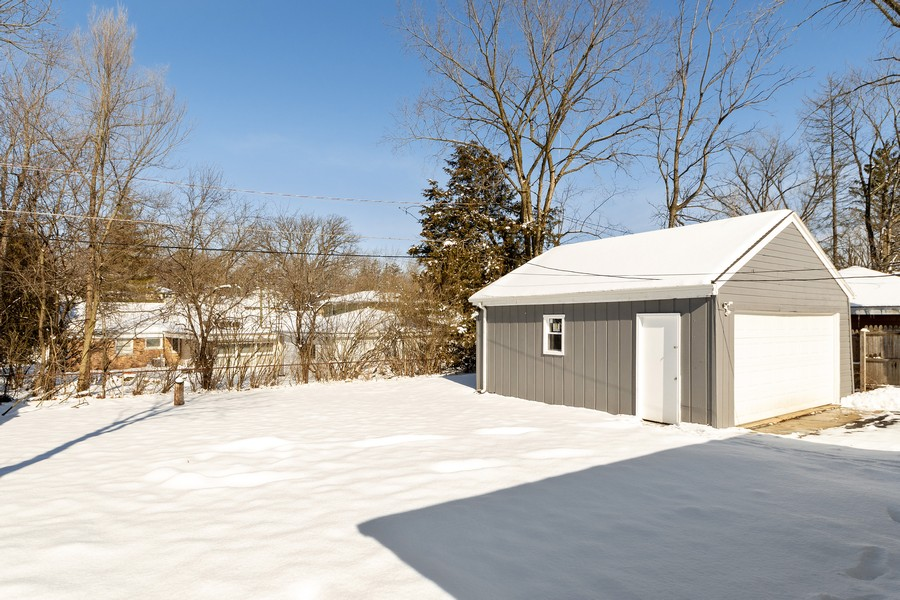 Real Estate Photography - 38 Monee Rd, Park Forest, IL, 60466 - Back Yard
