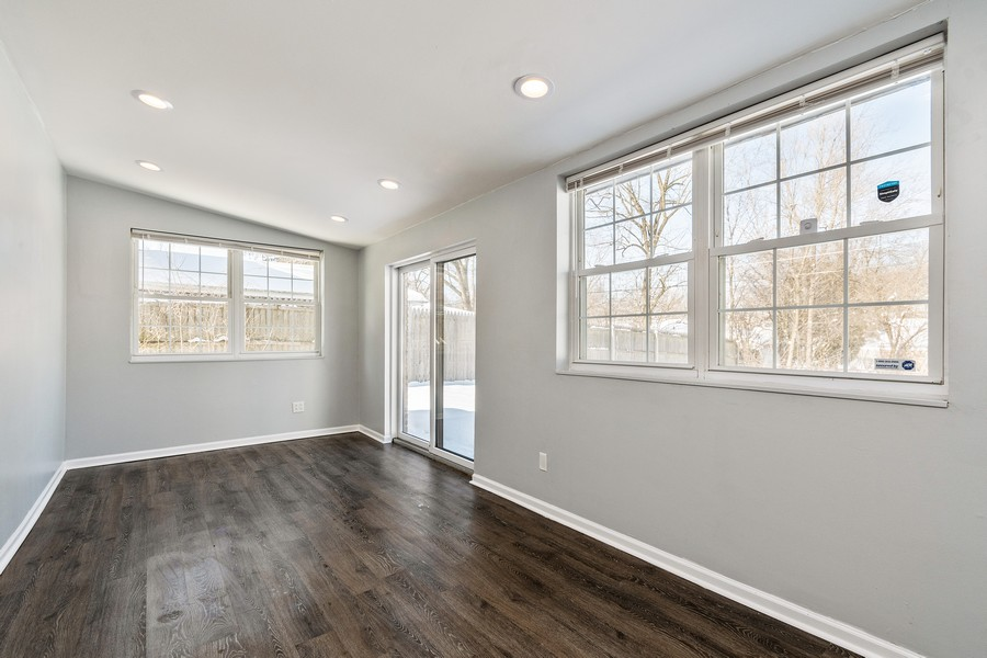 Real Estate Photography - 38 Monee Rd, Park Forest, IL, 60466 - Family Room