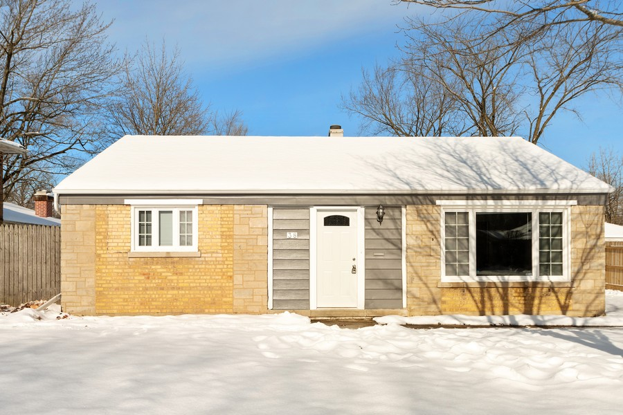 Real Estate Photography - 38 Monee Rd, Park Forest, IL, 60466 - Front View