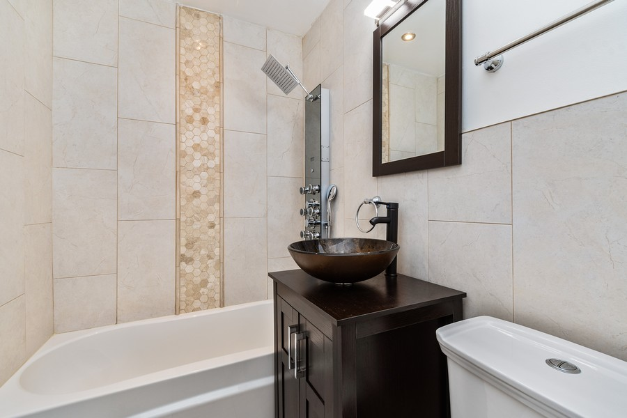 Real Estate Photography - 38 Monee Rd, Park Forest, IL, 60466 - Bathroom