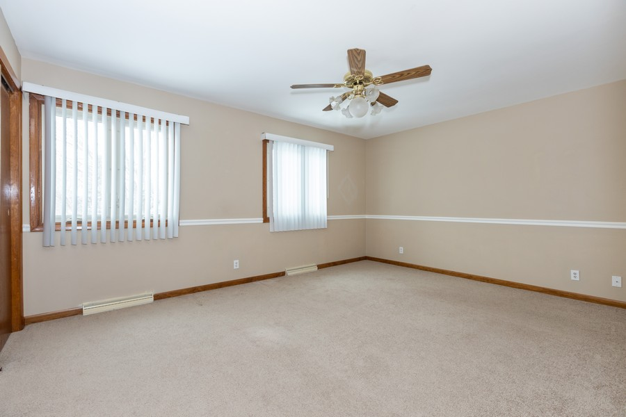 Real Estate Photography - 1032 Schoolgate Rd, New Lenox, IL, 60451 - Master Bedroom