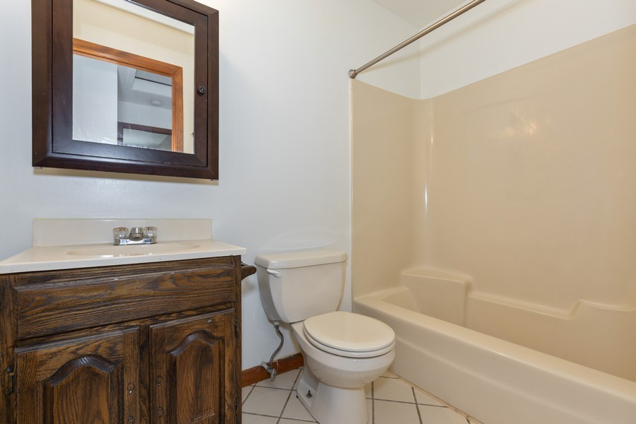 Real Estate Photography - 1032 Schoolgate Rd, New Lenox, IL, 60451 - Bathroom