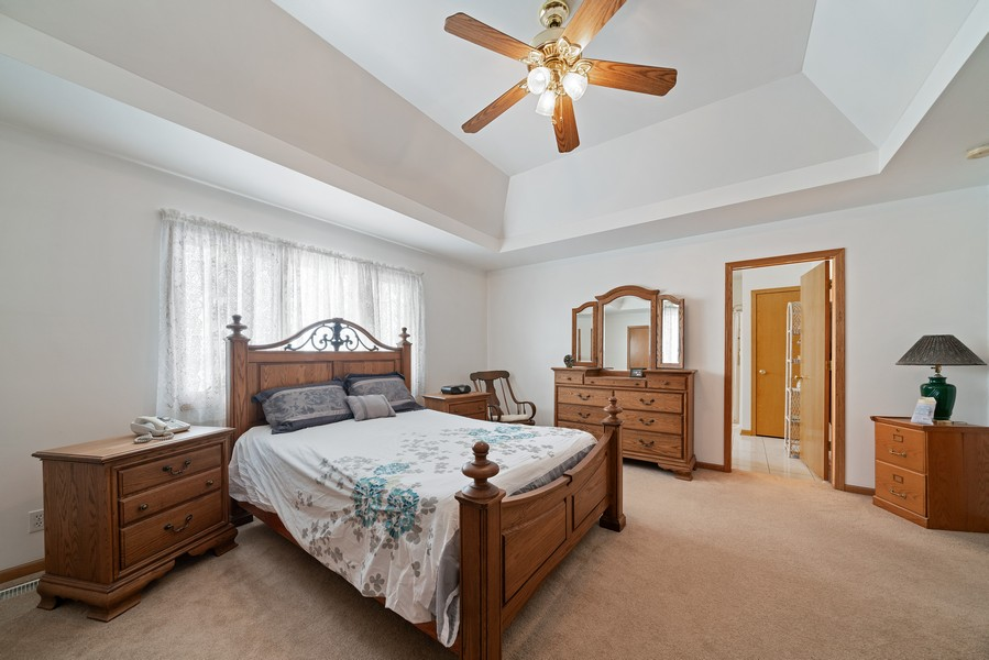 Real Estate Photography - 700 O Toole Dr, Minooka, IL, 60447 - MASTER BEDROOM