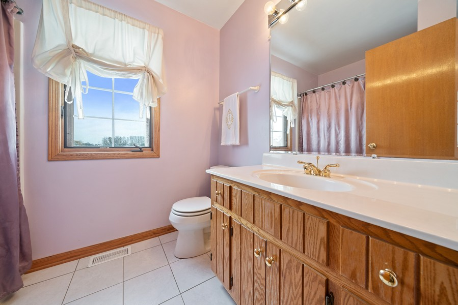 Real Estate Photography - 700 O Toole Dr, Minooka, IL, 60447 - SECOND FLOOR FULL BATH