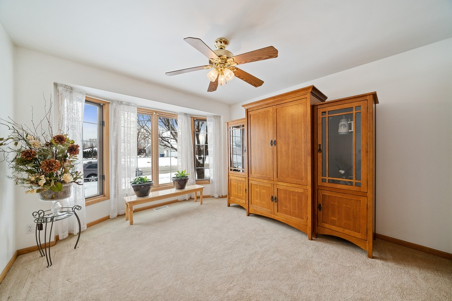 Real Estate Photography - 700 O Toole Dr, Minooka, IL, 60447 - MAIN FLOOR FOURTH BEDROOM, CURRENTLY BEING USED AS