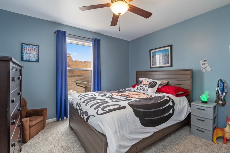 Real Estate Photography - 2338 Cardinal Dr, New Lenox, IL, 60451 - 3rd Bedroom