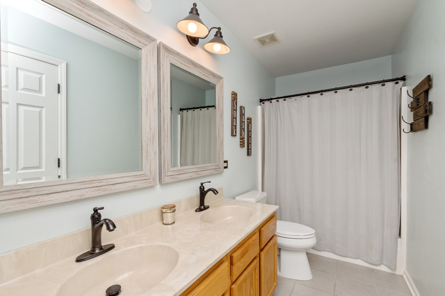 Real Estate Photography - 2338 Cardinal Dr, New Lenox, IL, 60451 - Bathroom