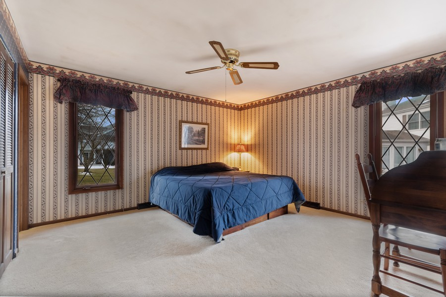 Real Estate Photography - 972 West Bauer Rd, Naperville, IL, 60563 - Master Bedroom