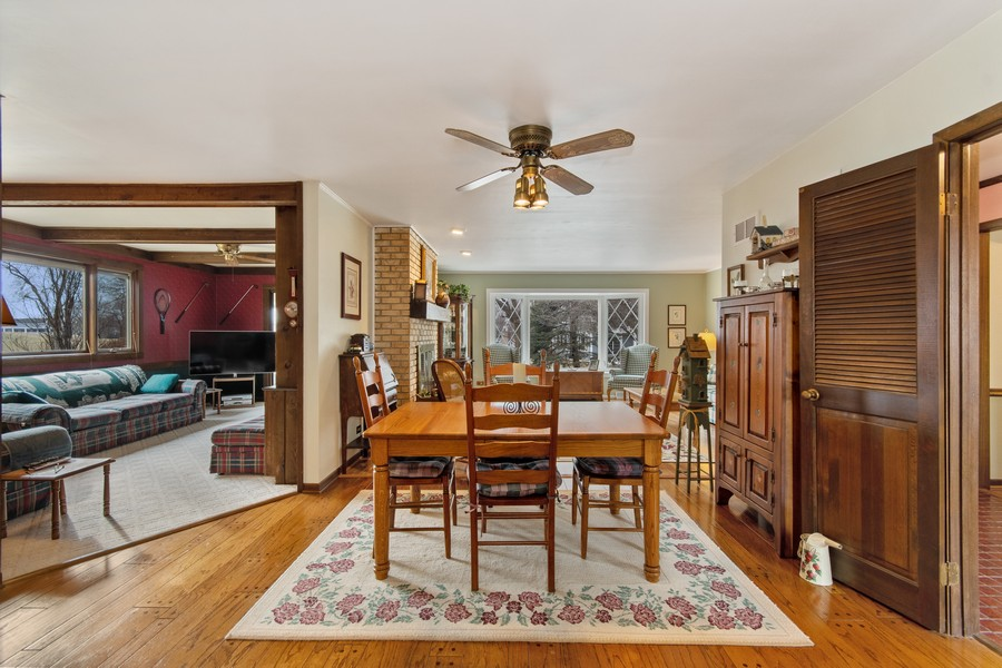 Real Estate Photography - 972 West Bauer Rd, Naperville, IL, 60563 - Dining Room
