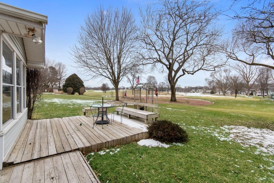Real Estate Photography - 972 West Bauer Rd, Naperville, IL, 60563 - Back Yard