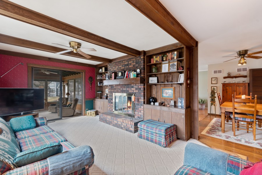 Real Estate Photography - 972 West Bauer Rd, Naperville, IL, 60563 - Family Room