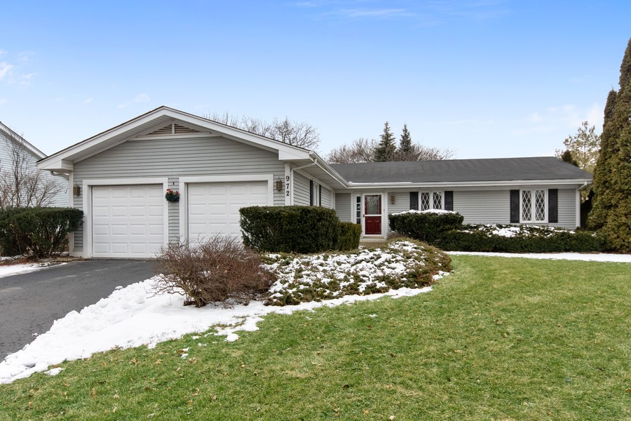 Real Estate Photography - 972 West Bauer Rd, Naperville, IL, 60563 - Front View