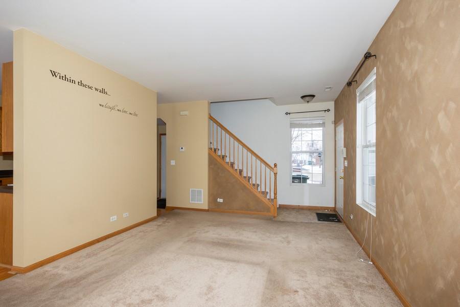 Real Estate Photography - 200 Parkside Dr, Shorewood, IL, 60404 - Living Room