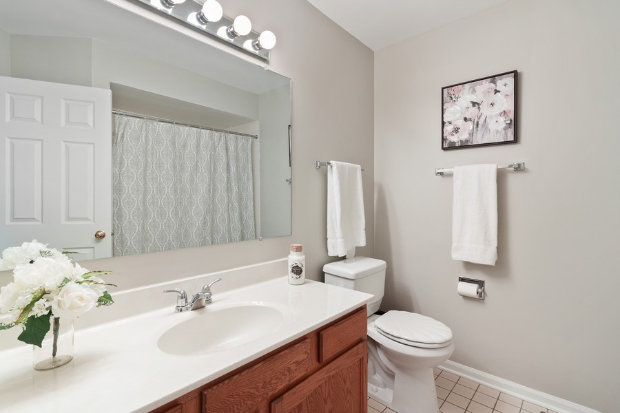Real Estate Photography - 1591 Lois Ann Ln, Naperville, IL, 60563 - Master Bathroom