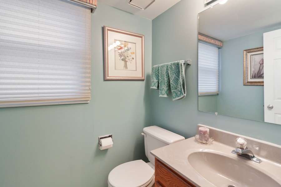 Real Estate Photography - 1591 Lois Ann Ln, Naperville, IL, 60563 - Powder Room