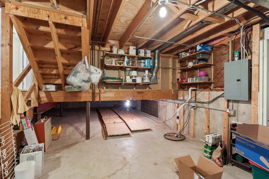 Real Estate Photography - 1591 Lois Ann Ln, Naperville, IL, 60563 - Basement