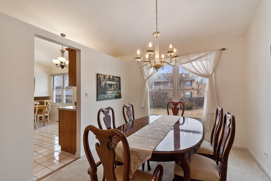 Real Estate Photography - 1591 Lois Ann Ln, Naperville, IL, 60563 - Dining Room