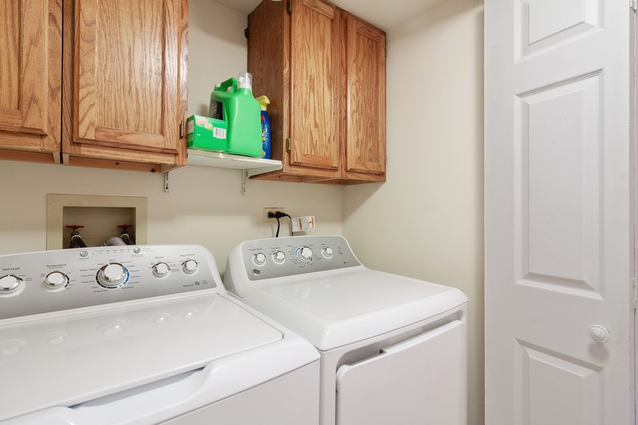 Real Estate Photography - 1591 Lois Ann Ln, Naperville, IL, 60563 - Laundry Room