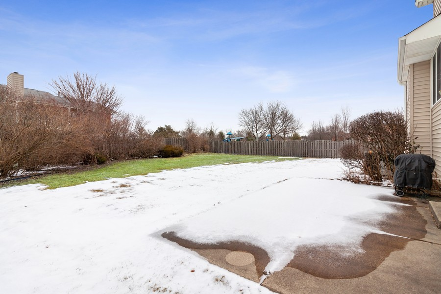 Real Estate Photography - 1591 Lois Ann Ln, Naperville, IL, 60563 - Patio
