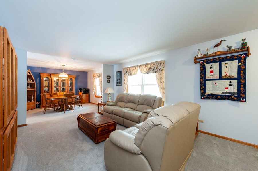 Real Estate Photography - 8807 Regnier Rd, Hebron, IL, 60034 - Living Room