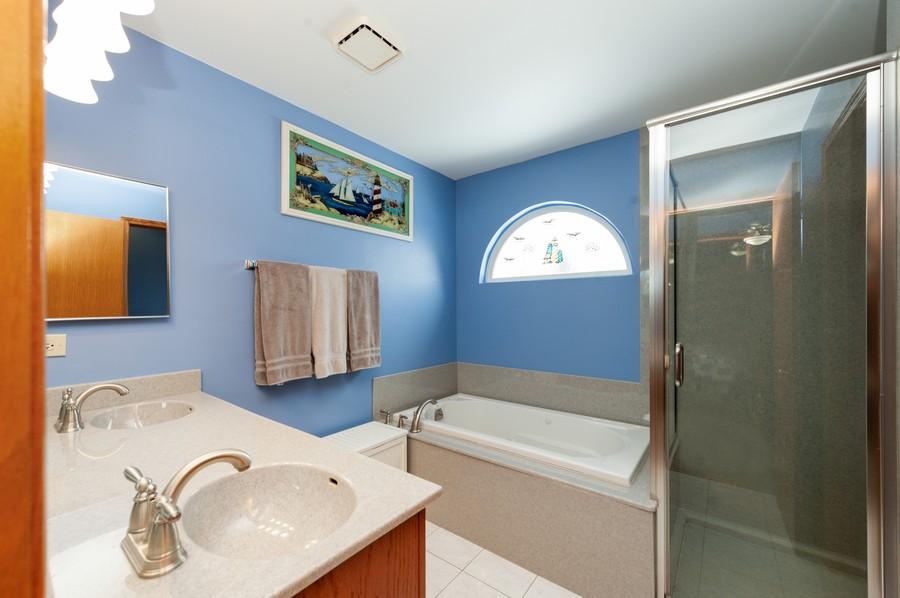 Real Estate Photography - 8807 Regnier Rd, Hebron, IL, 60034 - Master Bathroom