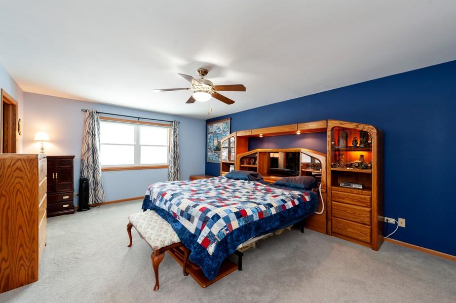 Real Estate Photography - 8807 Regnier Rd, Hebron, IL, 60034 - Master Bedroom