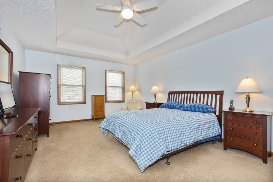 Real Estate Photography - 1416 Shepherd Dr, Naperville, IL, 60565 - Master Bedroom