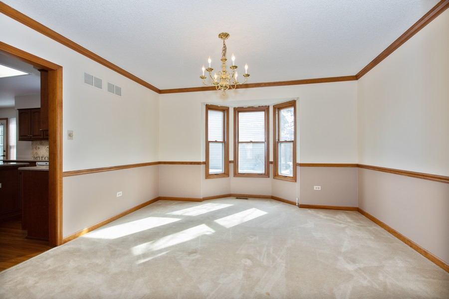 Real Estate Photography - 1416 Shepherd Dr, Naperville, IL, 60565 - Dining Room