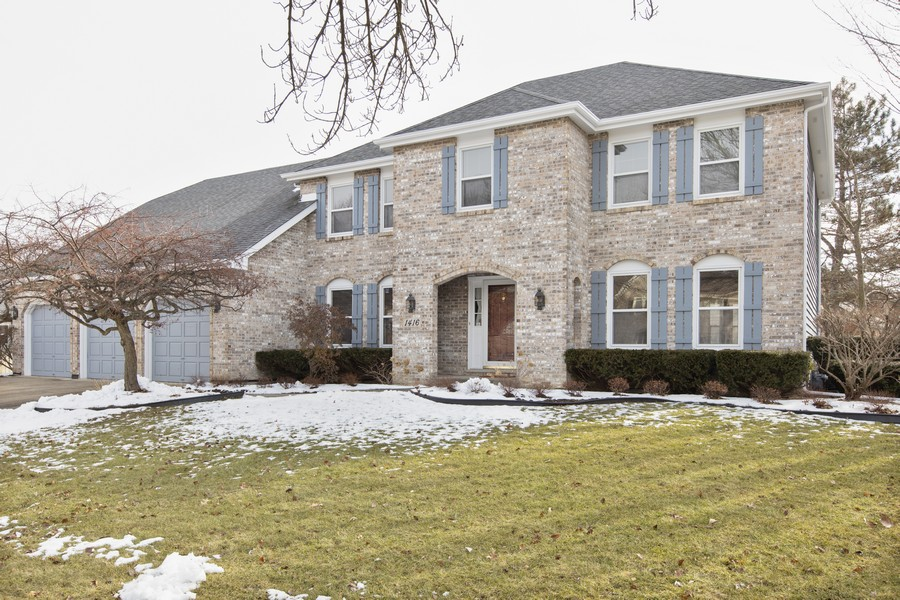 Real Estate Photography - 1416 Shepherd Dr, Naperville, IL, 60565 - Front View