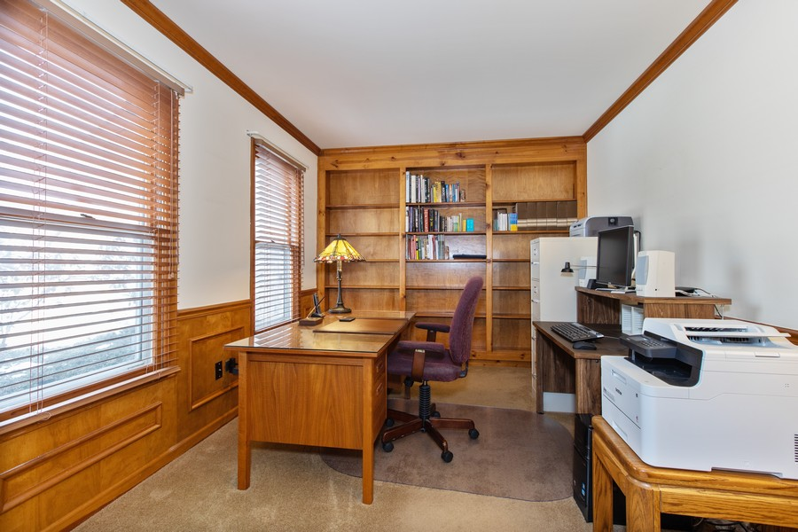 Real Estate Photography - 1416 Shepherd Dr, Naperville, IL, 60565 - Office