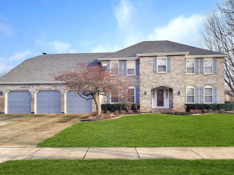 Real Estate Photography - 1416 Shepherd Dr, Naperville, IL, 60565 - Exterior Front