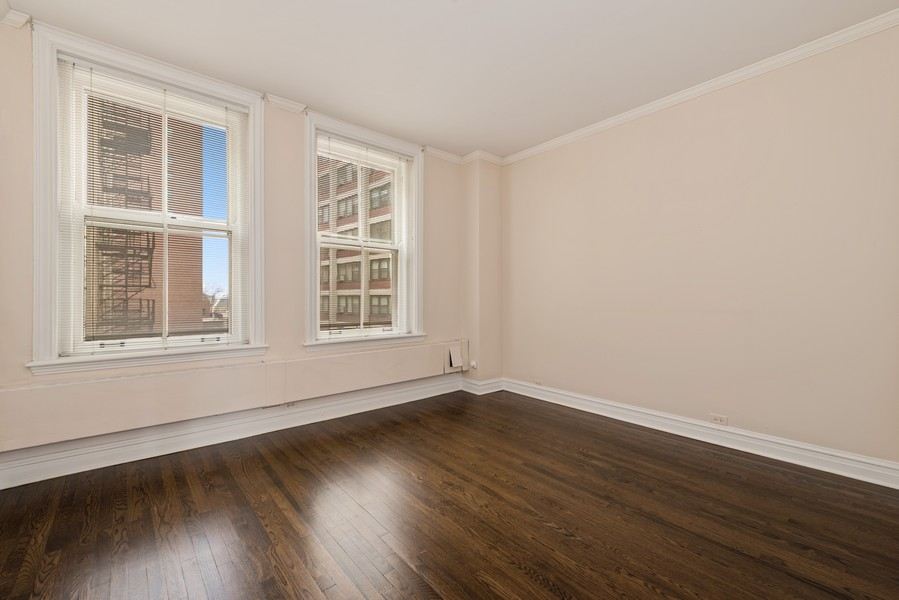 Real Estate Photography - 3400 North Lake Shore Dr, 4A, Chicago, IL, 60657 - Second Bedroom