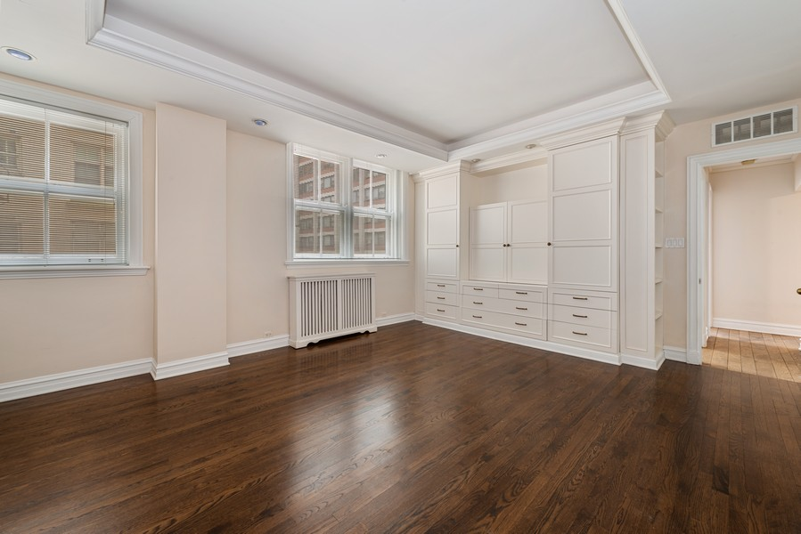Real Estate Photography - 3400 North Lake Shore Dr, 4A, Chicago, IL, 60657 - Master Bedroom