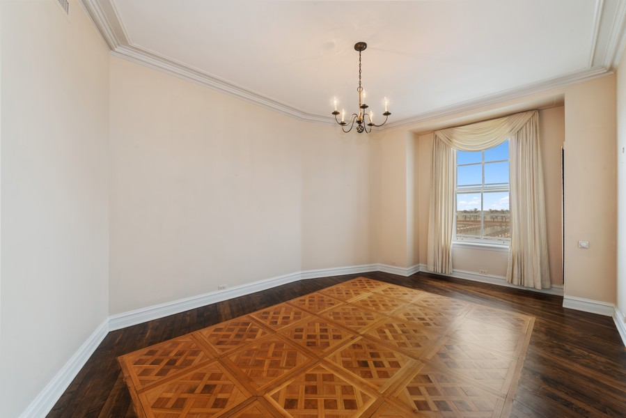 Real Estate Photography - 3400 North Lake Shore Dr, 4A, Chicago, IL, 60657 - Dining Room