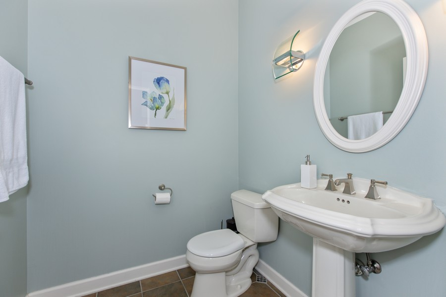 Real Estate Photography - 3655 Hector Ln, Naperville, IL, 60564 - 3rd Bathroom