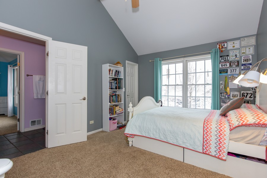 Real Estate Photography - 3655 Hector Ln, Naperville, IL, 60564 - 2nd Bedroom
