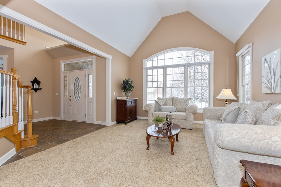 Real Estate Photography - 3655 Hector Ln, Naperville, IL, 60564 - Living Room
