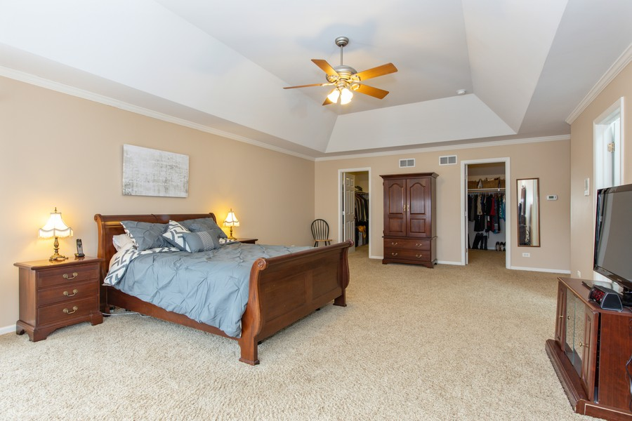Real Estate Photography - 3655 Hector Ln, Naperville, IL, 60564 - Master Bedroom