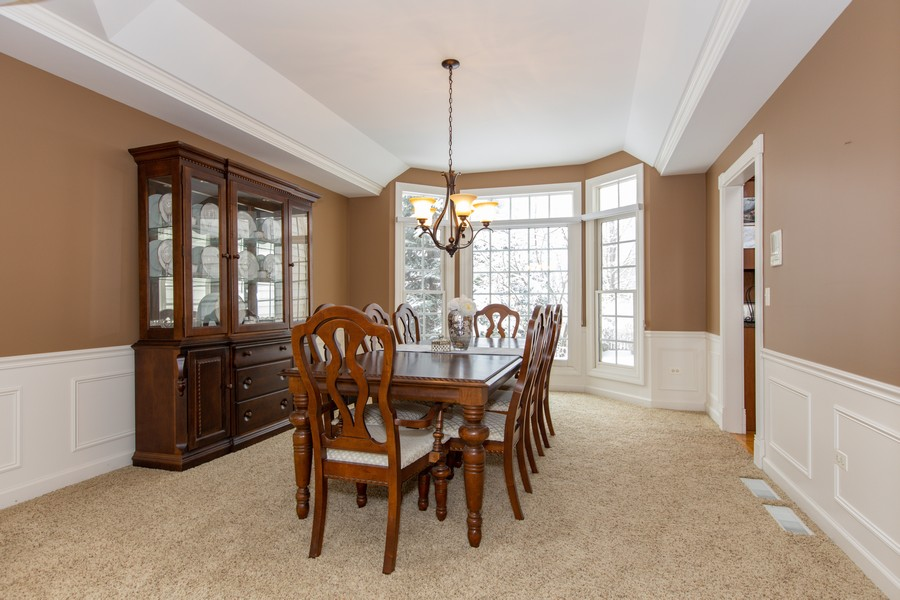 Real Estate Photography - 3655 Hector Ln, Naperville, IL, 60564 - Dining Room