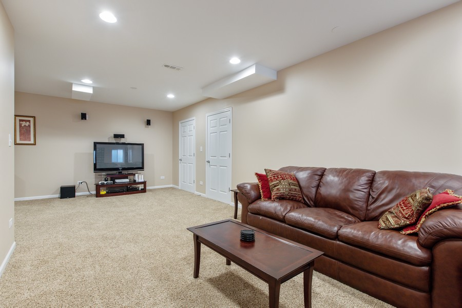 Real Estate Photography - 3655 Hector Ln, Naperville, IL, 60564 - Basement
