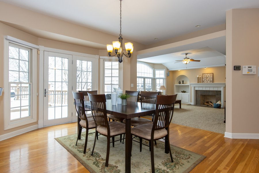 Real Estate Photography - 3655 Hector Ln, Naperville, IL, 60564 - Breakfast Area