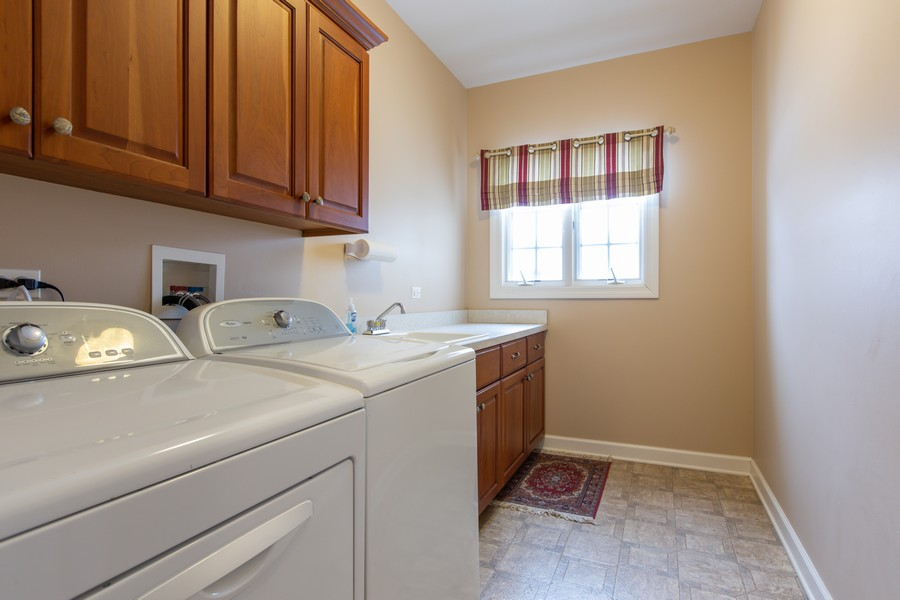Real Estate Photography - 3655 Hector Ln, Naperville, IL, 60564 - Laundry Room